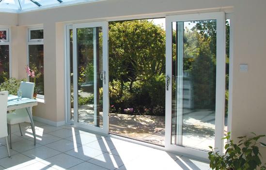 4 Panel Sliding Glass Patio Doors 549 x 351