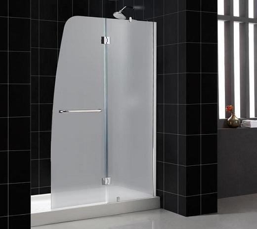 Shower Door Ideas For Bathroom Frosted Glass Shower Door Frameless For Modern