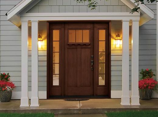 Stained Fiberglass Entry Doors : Three surprising truths about fiberglass entry doors